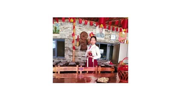 双峰寨引进电加热酿酒设备,邀请游客体验堆花酒酿造全过程!