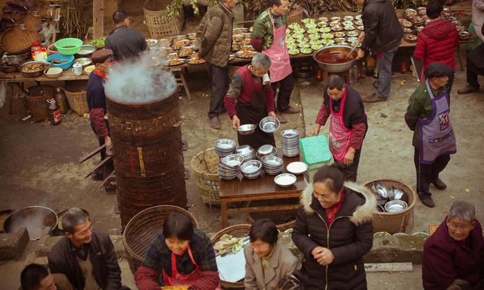 9.11农村寿宴