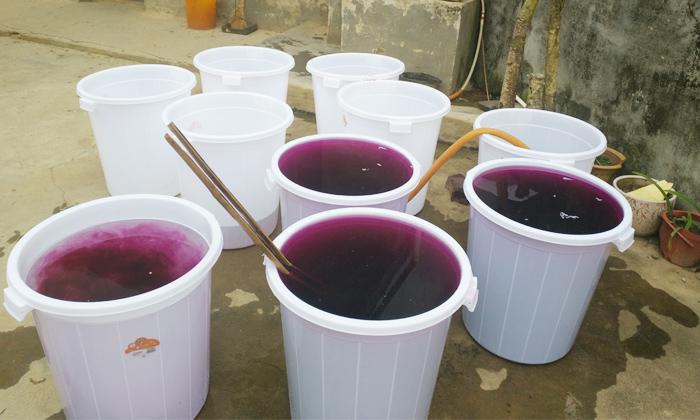 4.1用高锰酸钾对发酵桶进行消毒
