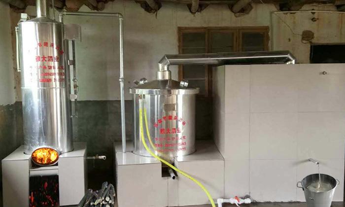 9.19雅大烧酒设备正确安装示例