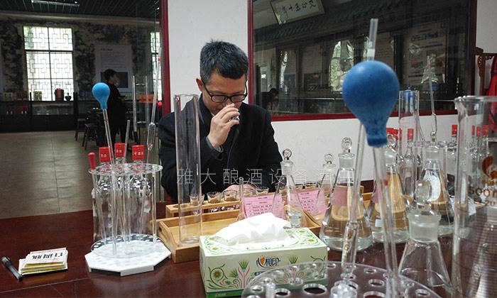 国家高级酿酒师品酒