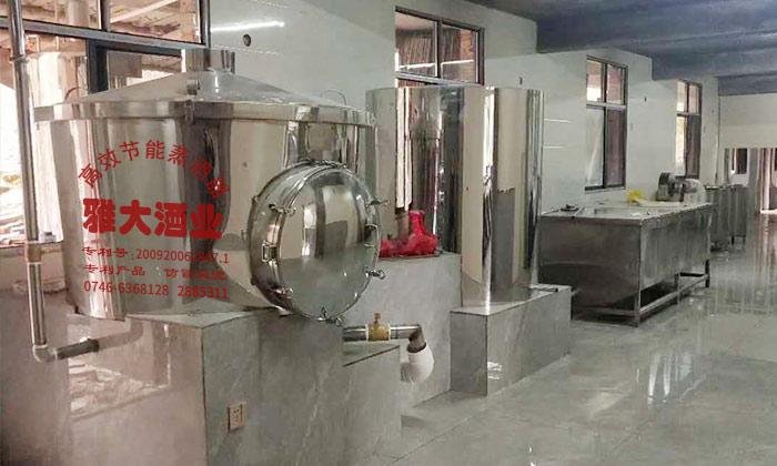 3.8白酒酿酒设备安装完成