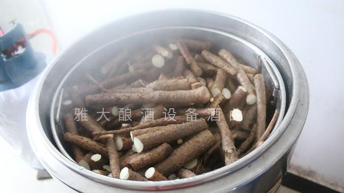 山药酿酒技术-蒸煮