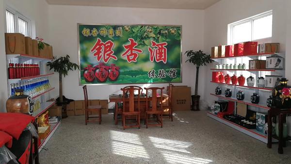 依托邳州30万亩银杏资源优势,引进白酒蒸馏设备开发银杏酒!