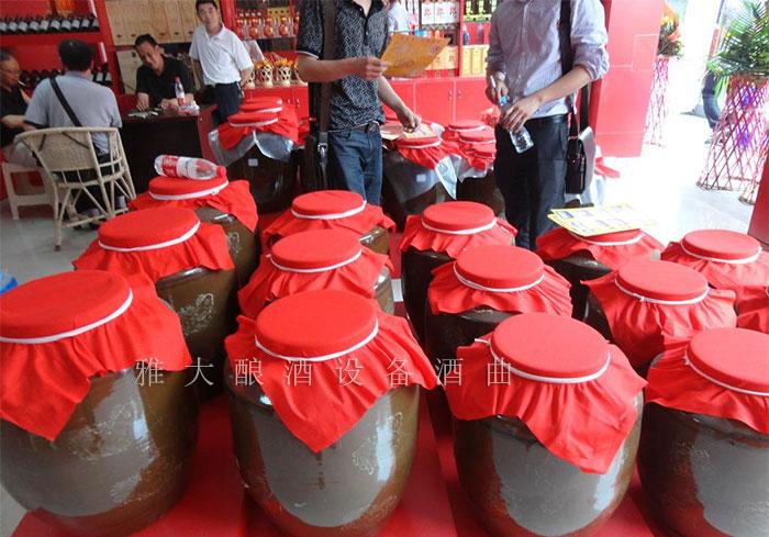 9.18大型酿酒设备酿造的散装纯粮白酒
