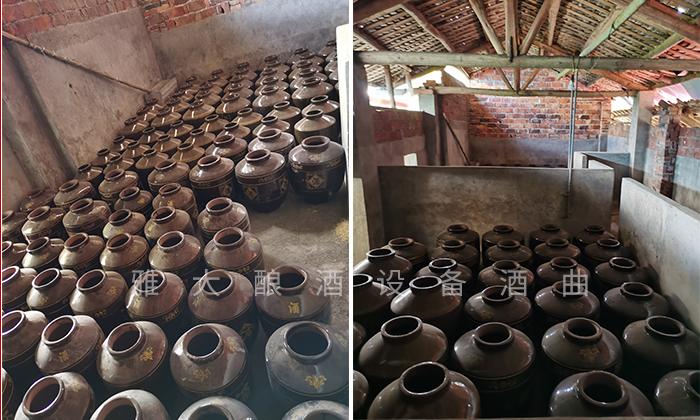 将养猪场改造成酿酒作坊