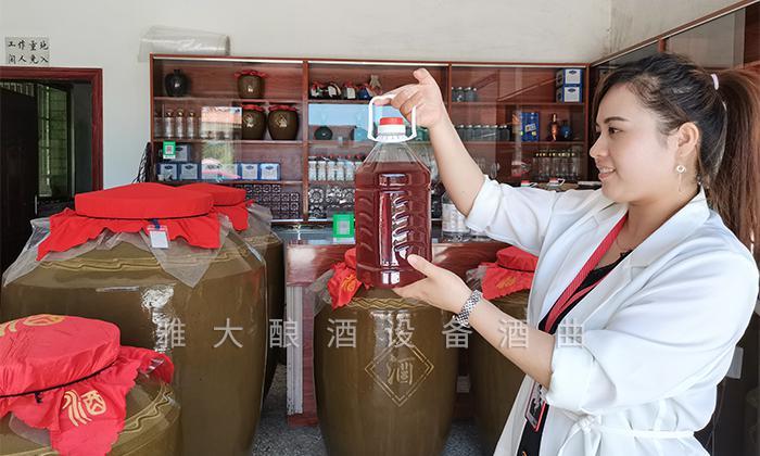【雅大客户回访实录】酒坊特色商业定位,错位营销拓宽销路 4