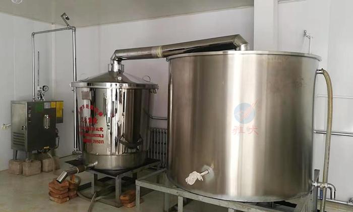 9.22-500斤电加热酿酒设备