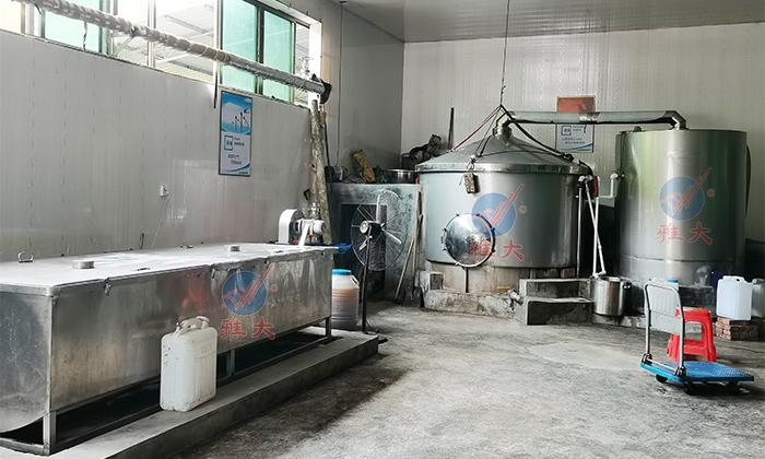 7.102000斤大型酿酒设备安装完成
