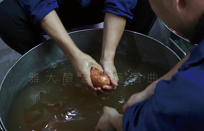 土豆酿酒技术-清洗