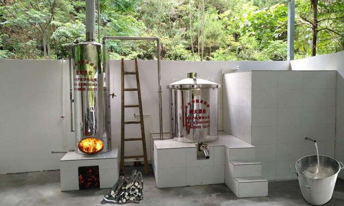 11.21-隔壁村用的200型酿酒设备