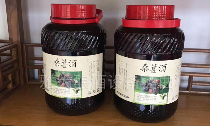 5.8桑果酒