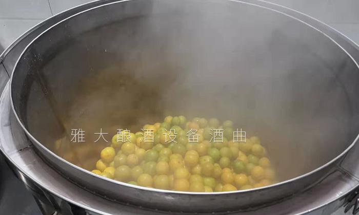 皇帝柑酿酒蒸熟1