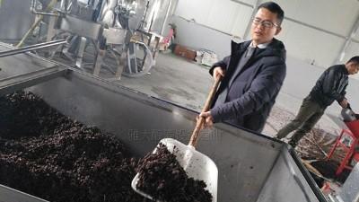 40吨拐枣烂在树上卖不掉,用雅大蒸酒设备酿成酒,每瓶卖288元!