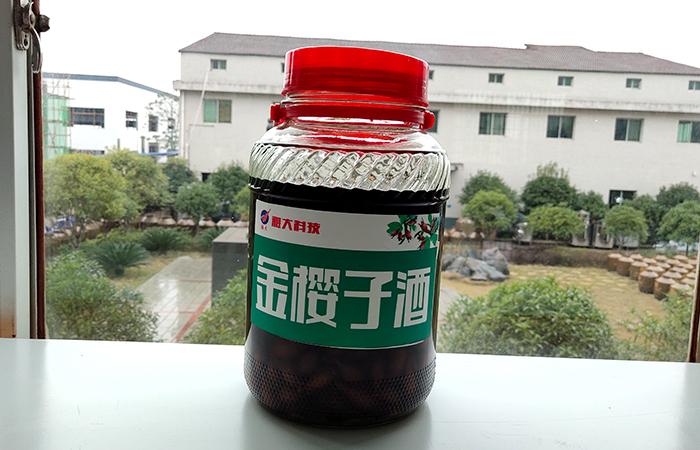 雅大水果泡制酒—金樱子酒