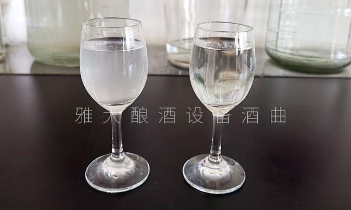 4.10白酒加水前后浑浊度对比