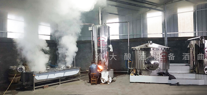 8.2雅大大型蒸馏酿酒设备安装与使用