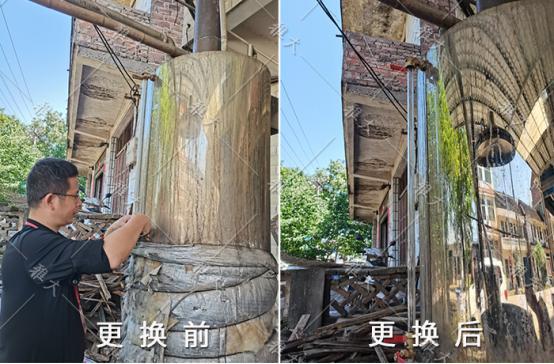 8.2雅大技术团队下乡帮学员清洗酿酒设备