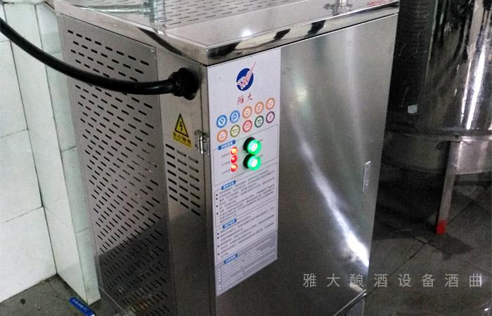 8.2电加热酿酒设备除水垢