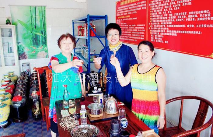 雅大酿酒设备厂家酿酒国匠亲自指导的黄莉萍,如今做得怎么样了23