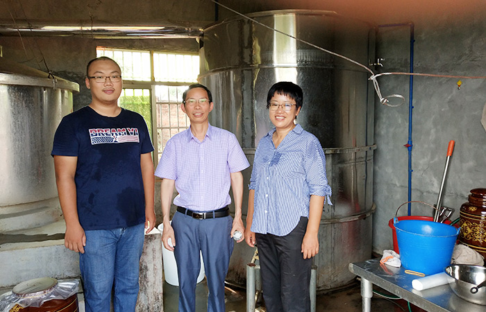 2020.1.8雅大酿酒设备厂家酿酒国匠亲自指导的黄莉萍,如今做得怎么样了2