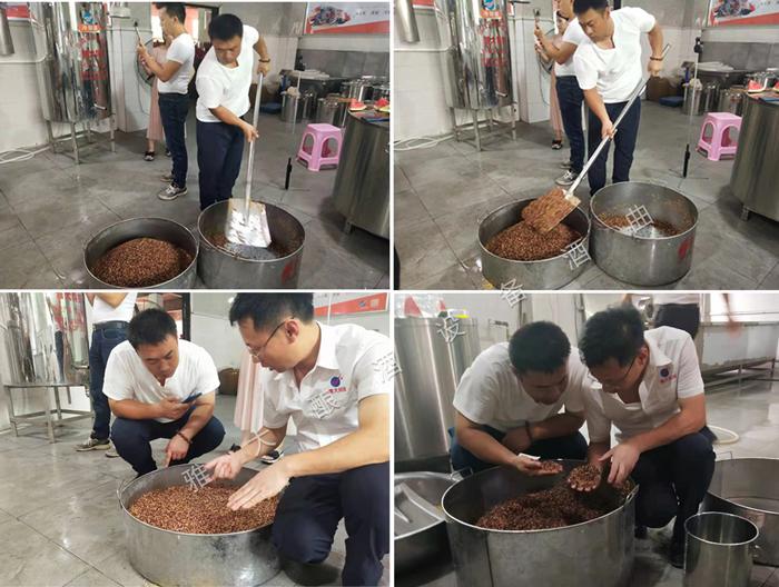 3.8陈哥在雅大酒厂自己动手做高粱酒