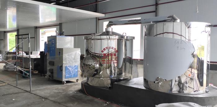 12.4-1000型生物颗粒酿酒设备安装