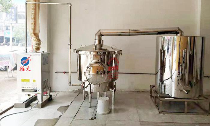 11.22窖藏酒必须选择白酒生产设备酿造的纯粮酒