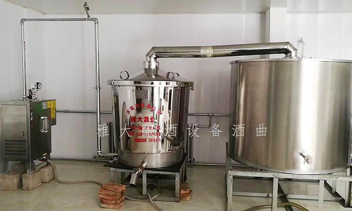 10.4雅大电加热酿酒蒸馏设备