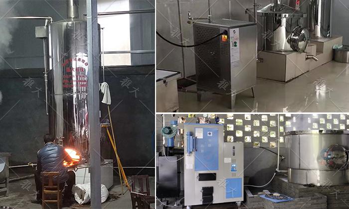 10.8雅大酿酒设备可搭配不同燃料的锅炉