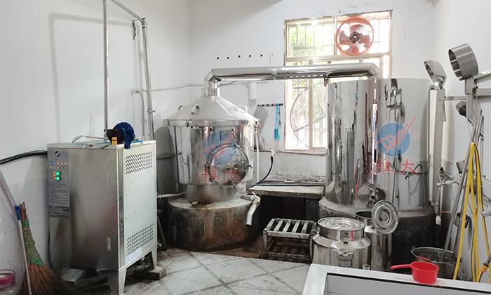 7.6-200斤电加热白酒酿酒设备