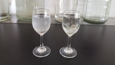 刚从白酒蒸馏设备接的酒,第2天发现有白色沉淀物怎么回事?