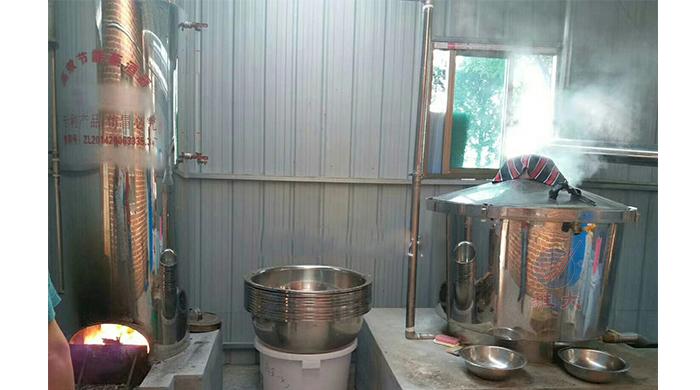 2.27雅大白酒酿酒设备蒸糯米饭