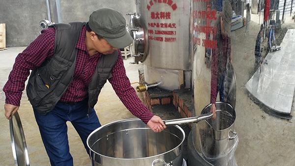 11.20小型酒厂酿酒设备回家开酒坊
