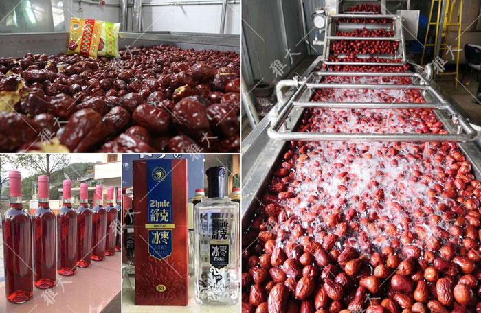 红枣酿酒技术