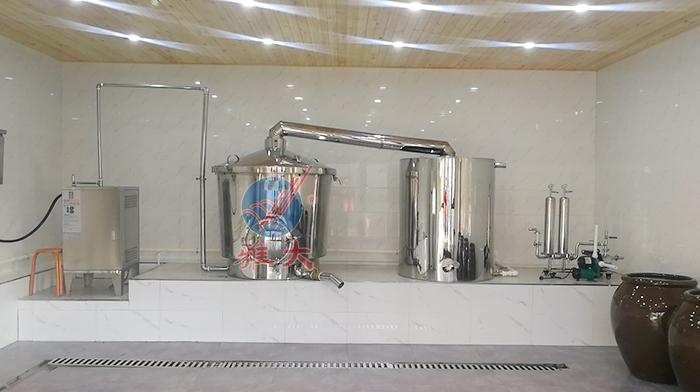 电加热酿酒设备安装布局