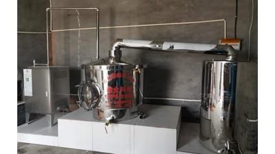 夏天用蒸馏酿酒设备做固态酒能行吗?能,但要注意这7点!
