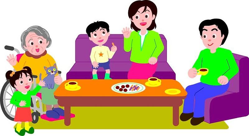 3.2全家坐一起聊天