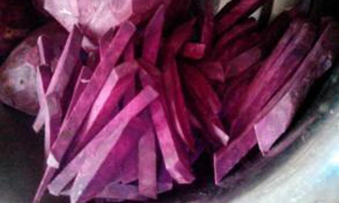 10.13紫薯切条