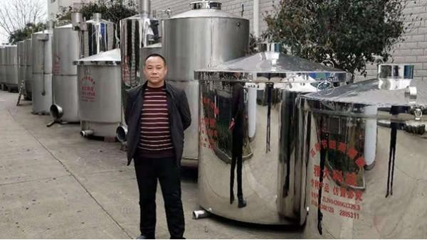 当地以喝勾兑酒为主,用白酒生产设备酿酒创业应该这样做市场