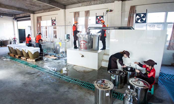 1.21每天忙着发酵、蒸酒