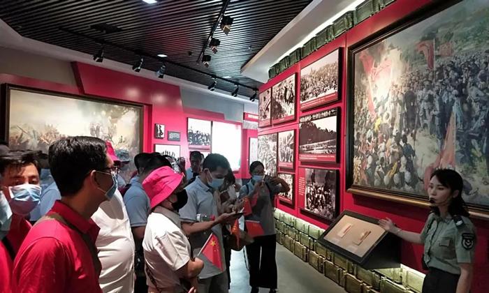 6.30参观红军长征湘江战役纪念馆