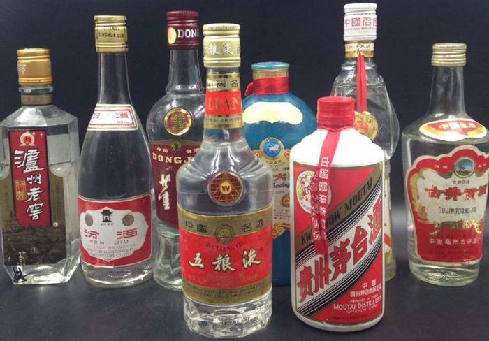 10.27不同香型白酒