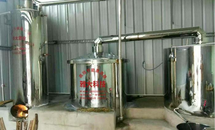 10.22雅大白酒厂酿酒设备