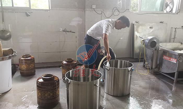 3-清洗发酵桶