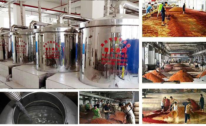 酿酒蒸馏设备酿酒工艺流程
