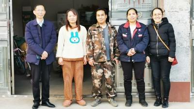浓浓关怀暖人心,雅大智能春节前夕走访基层员工