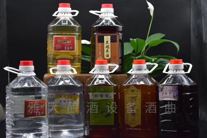 8.19小莫酒坊酿造的各种粮食酒、水果酒
