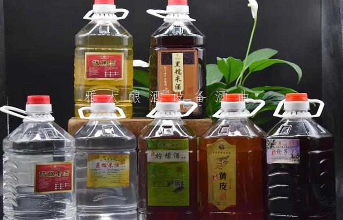 9.28南宁小莫酒坊各种水果酒