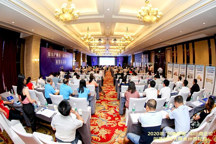 """7.16 2020年""""创客中国""""中小微企业创新创业大赛永州市复赛"""